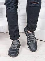 Мужские кроссовки кожа флотар 6886-28