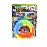 Светящийся мягкий трек Track Car 56 деталей 7210