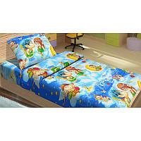 Постельное белье для подростков Kidsdreams 150 поплин - Амуры голубое