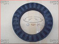 Проставка передней пружины, резиновая, верхняя, BYD F3 [1.6, до 2010г.], 1064001259, Aftermarket