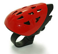 Звонок велосипедный в форме шлема