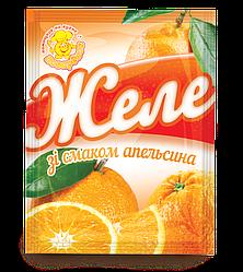 Желе со вкусом апельсина 85 г.