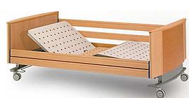 Ліжко медична чотирьохсекційна з електроприводом 200 x 120 см Adi. lec 280 (Hermann Bock)