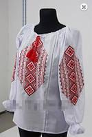 Вышиванка  блуза  женская Орнамент  батист 1006 ( С.Е.С.)