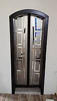 Двери из массива ольхи,сосны,ясеня,дуба арочные распашные