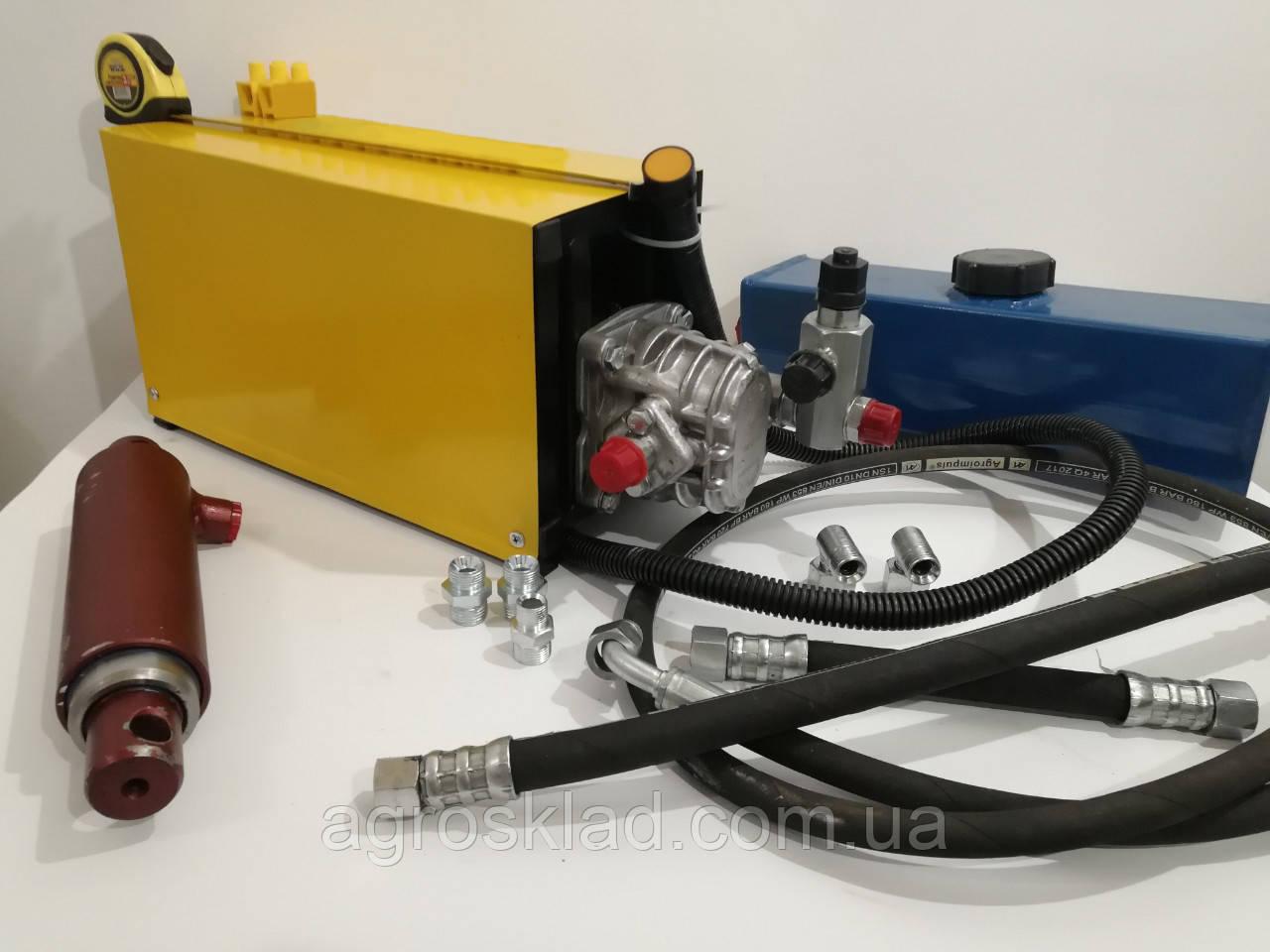 Комплект гидравлики для автомобильных прицепов