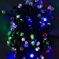 Гирлянда светодиодная 100 ламп,мультиколор в кор. 15*8*9см /100/(C31315)