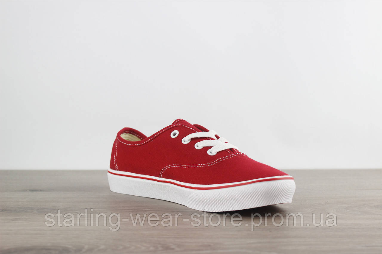 15c1c413ae Vans Authentic Sneaker Red Classic  продажа