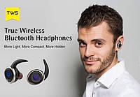 Бездротові блутуз навушники AWEI T1 TWS (Bluetooth), фото 1