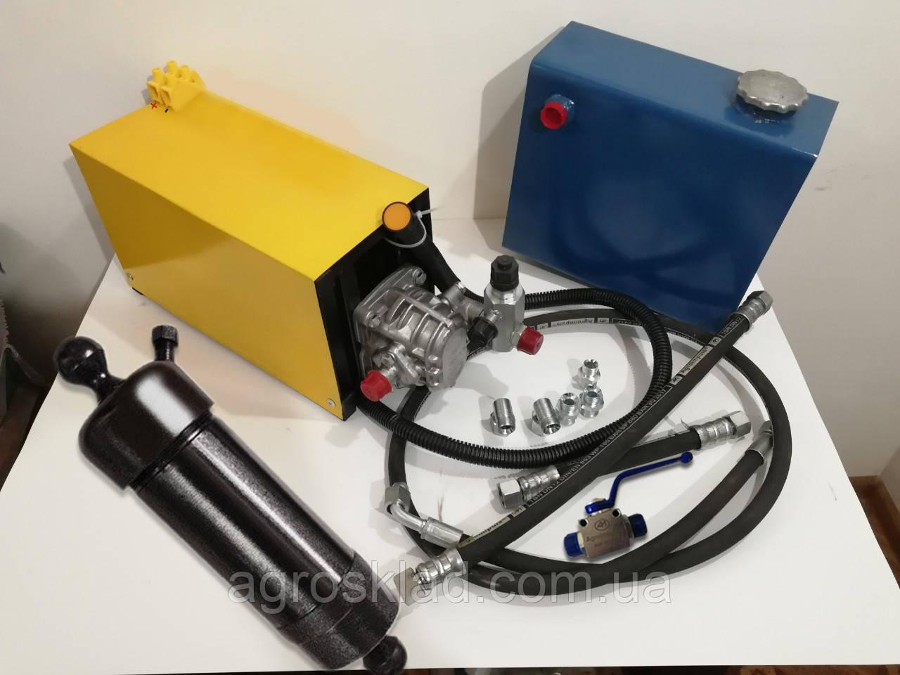 Комплект гидравлики для самосвала на Газель, Уаз и др. грузовые авто