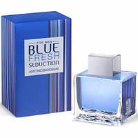 Туалетная вода ANTONIO BANDERAS для мужчин Antonio Banderas Blue Fresh Seduction For Men edt 100 мл (Копия)