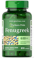 Puritan's Pride Fenugreek 610mg 100caps