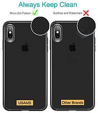 Чехол накладка USAMS для Apple iPhone X / XS Mant series Черный / Прозрачный (IP18MD01), фото 3
