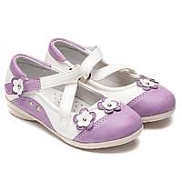 Туфли Miss Beauty для девочки, на липучке, размер 25-30