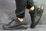 Мужские кроссовки Nike Air Max Black, фото 2