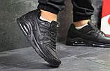 Мужские кроссовки Nike Air Max Black, фото 5