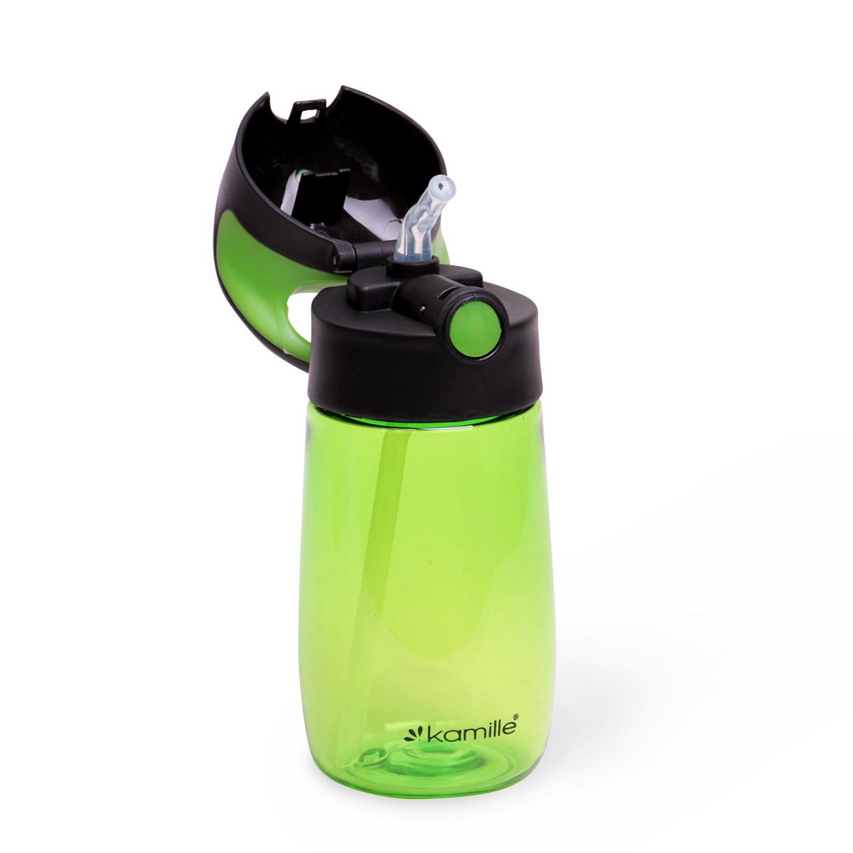 Пляшка дитяча для води Kamille 350мл з пластику