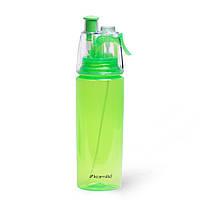 Бутылка спортивная для воды Kamille 570мл из пластика (тритан)
