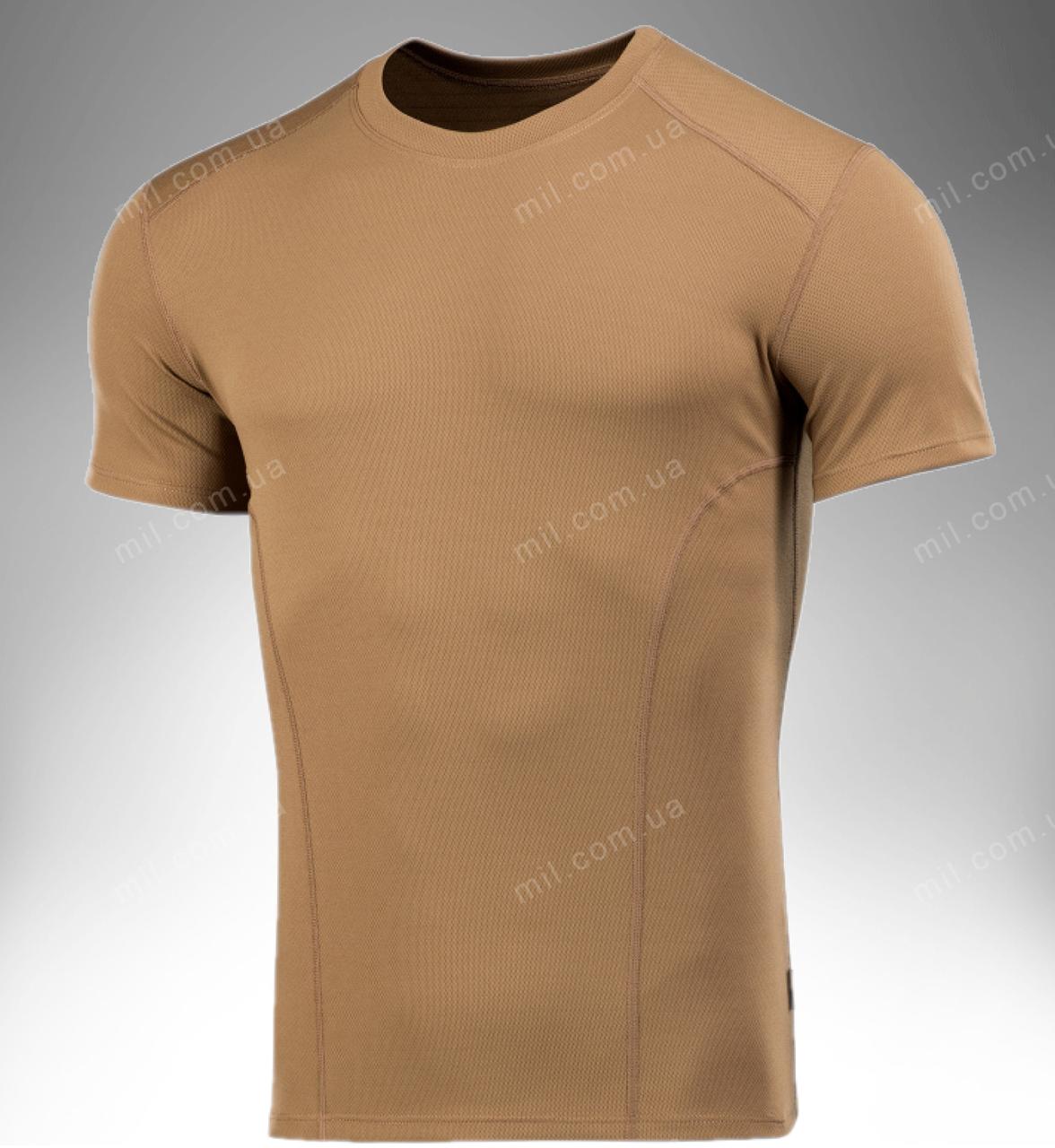 Футболка тактическая потоотводящая ARES (коричневая)