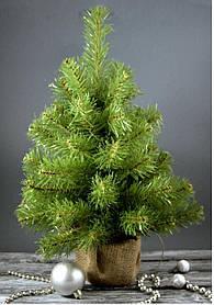 Елка новогодняя в горшочке 52 см ель ели ёлка ёлки елка елки сосна искусственная штучна ялинка ялинки сосни