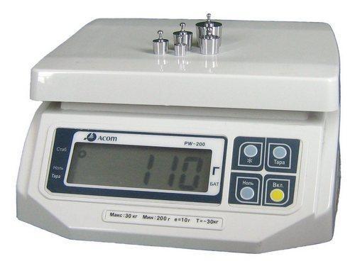Ваги настільні Acom PW-200