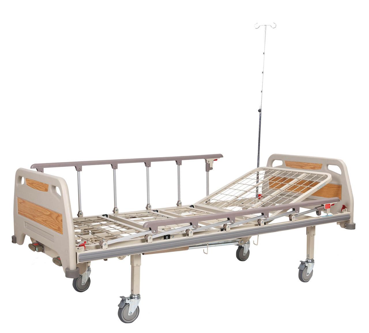 Кровать медицинская механическая OSD-94C, 4 секции