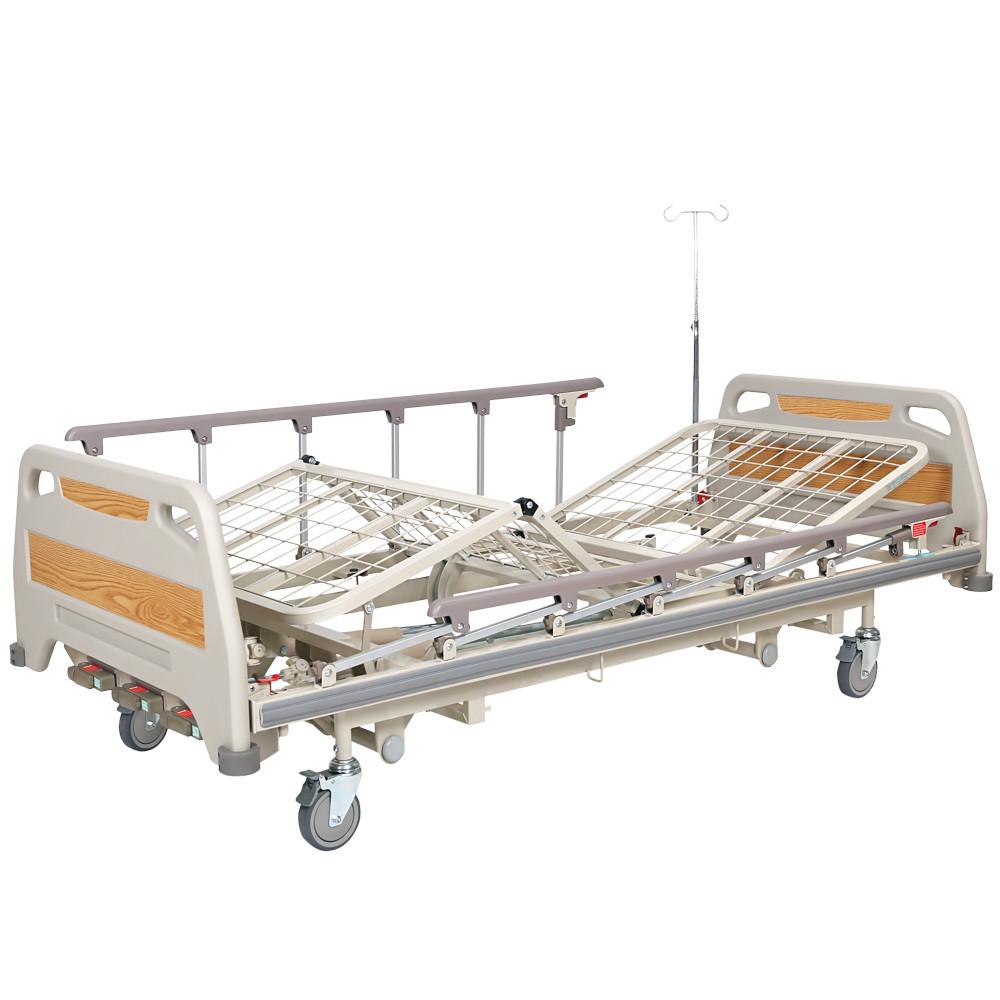 Кровать медицинская механическая с регулировкой высоты OSD-94U, 4 секции