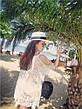 Пляжная туника. Черная и Белая, фото 6