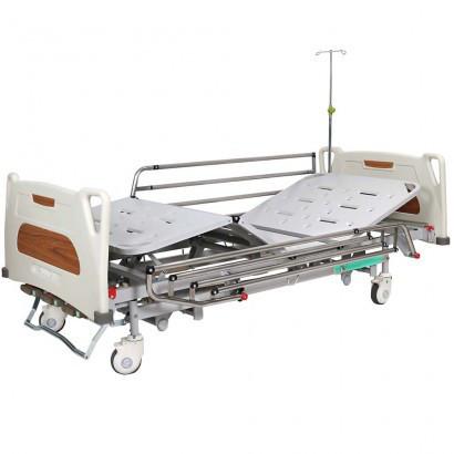 Кровать медицинская механическая с регулировкой высоты, 4 секции OSD-9017