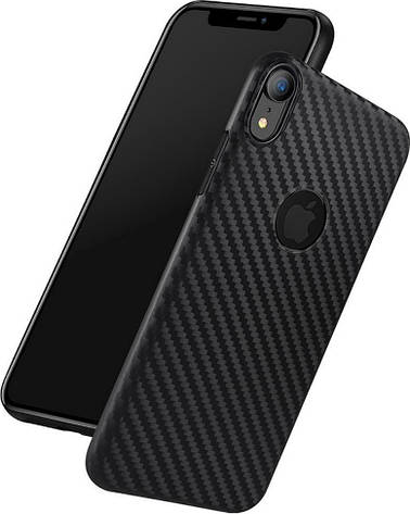 Чохол-накладка Hoco для Apple iPhone XR Delicate shadow series Чорний, фото 2