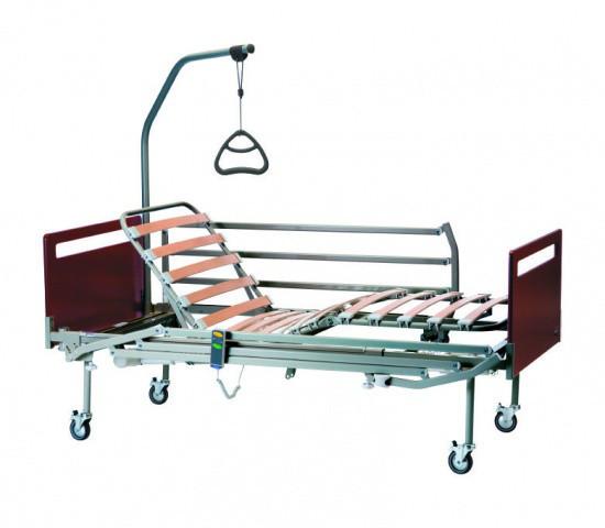 Медицинская кровать Invacare Sonata 4 секции в комплекте с колесами