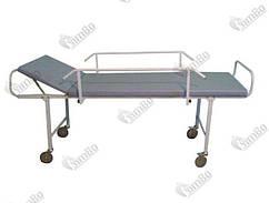 Каталка для транспортування пацієнтів з боковим огорожею КТП