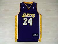 Мужская баскетбольная майка Los Angeles Lakers (Kobe Bryant) Purple, фото 1