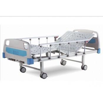 Ліжко лікарняне E-8 в стандартній комплектації: матрац, інфузійна стійка