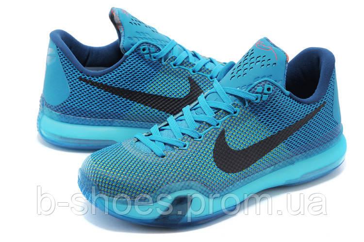 """Мужские Баскетбольные кроссовки Nike Kobe 10 """"Blue Lagoon"""""""