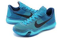 """Мужские Баскетбольные кроссовки Nike Kobe 10 """"Blue Lagoon"""", фото 1"""