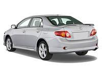Накладки на задний бампер Тойота Королла (2006 - )