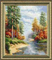 """""""Осень"""" Золотое Руно. Набор для вышивки крестом (ВМ-001)"""