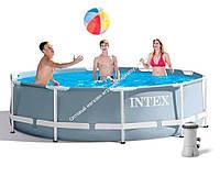 Intex Бассейн каркасный 26706 NP  305х99 см , насос, лестница, 6500л  (ОПТОМ)
