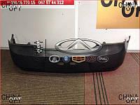 Бампер задний, пластик, черный, не крашенный, седан, Geely MK1 [1.6, до 2010г.], 1018005772, Aftermarket