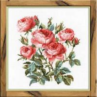 Набор для вышивки крестом Риолис 1046 Садовые розы
