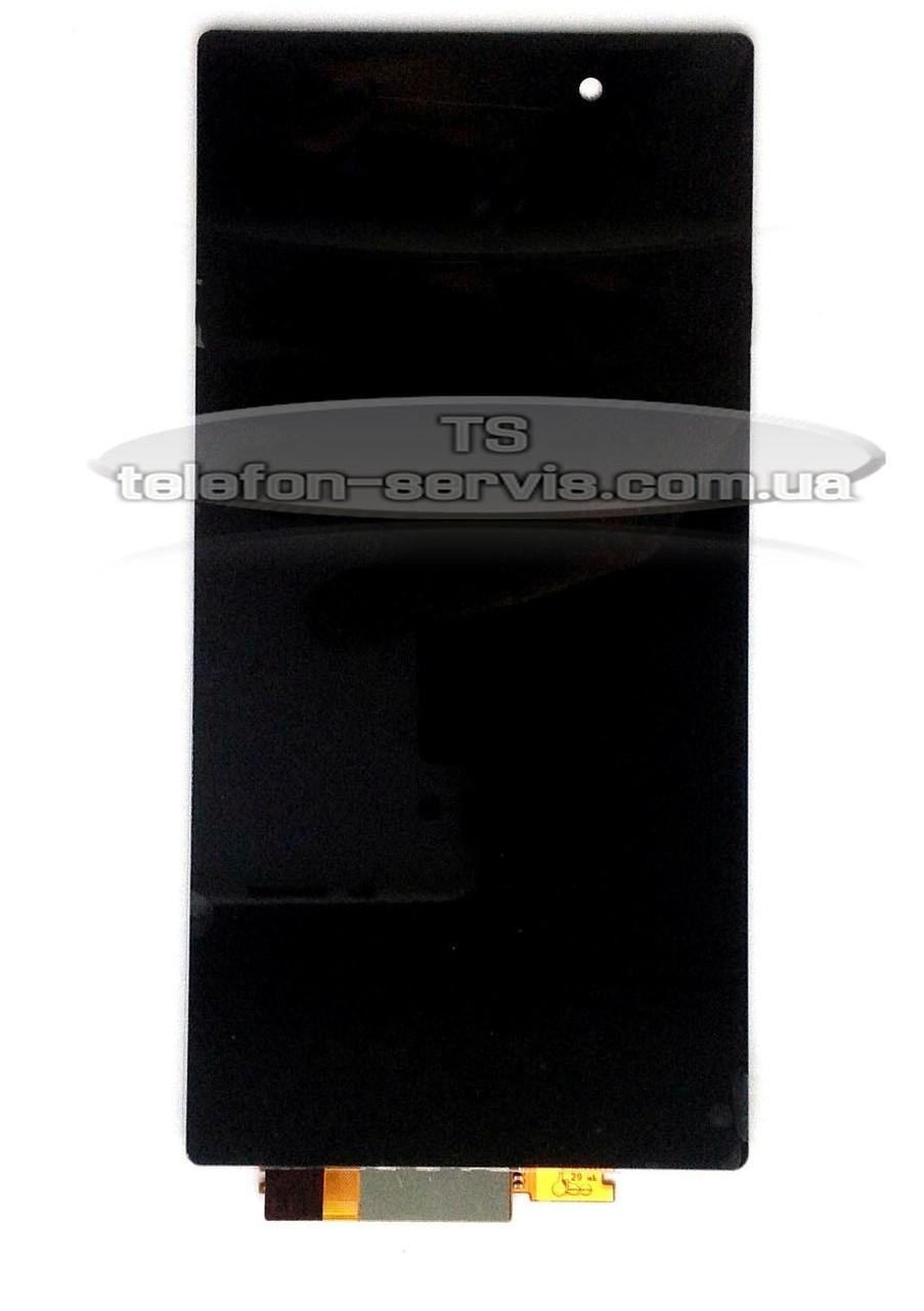 Дисплей  Sony C6902 L39h Xperia Z1, C6903 Xperia Z1, C6906 Xperia Z1, C6943 Xperia Z1, черный, с тачскрином