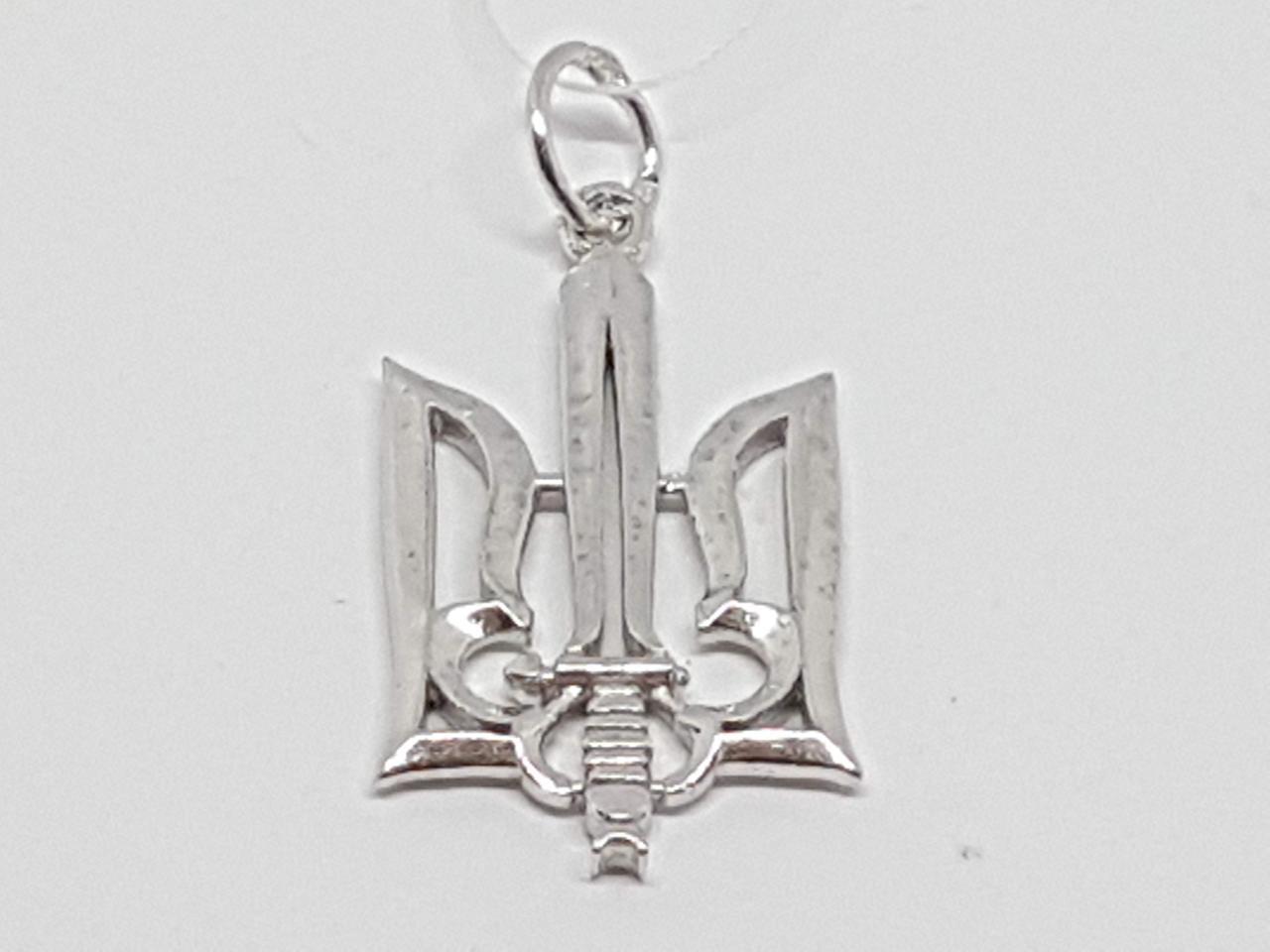 Серебряная подвеска Трезубец. Артикул 3609Р