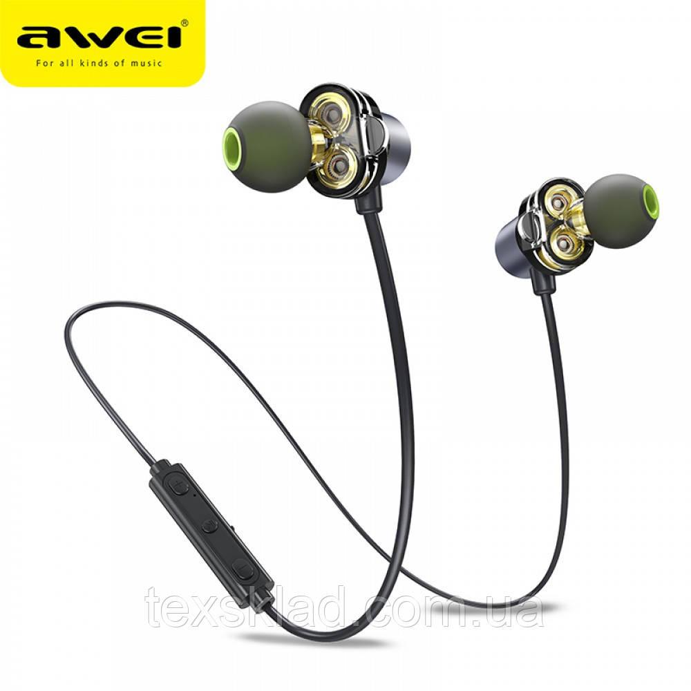 Беспроводные блутуз наушники AWEI X660BL (Bluetooth)