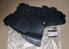 Защита бампера правая Dacia Logan фаза 1 (Breckner BK71750)(среднее качество)