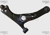 Рычаг передний правый, в сборе, с шаровой, Lifan X60 [1.8], T11-2909020, Original parts