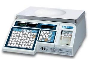 Весы с печатью этикеток CAS - LP 1.6 (без стойки)