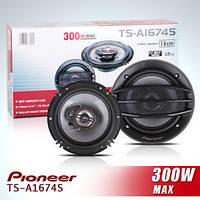 Автомобильная акустика PIONEER-1674 ! 16 см !! 300 W