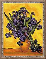 Набор для вышивки крестом Риолис 1087 Ван Гог.Ирисы