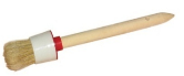 Кисть круглая универсальная, деревянная ручка  БРИГАДИР, №4 25мм (63930002)